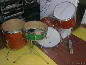 барабанная установка бу германия - Изображение #1, Объявление #406931