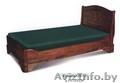 Кровать двухспальная деревянная