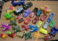 Машинки,  мягкие игрушки,  фигурки от киндеров