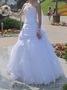 Свадебное платье б/у один день