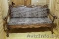 Резной диван.Ручная работа