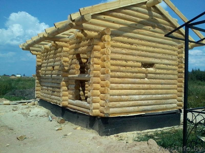 видео построить дом из бревна своими руками