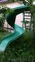 Горка спиральная для детской площадки из стеклопластика. Длина 3 м,  ширина 1, 5 м