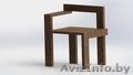 Табуретки и стулья из натурального дерева от производителя в наличии и под заказ