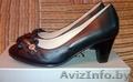 Женские новые кожаные туфли,  р-р 36